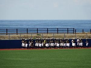 千葉英和高校野球部 八丈島合宿スタート!