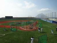 東京経済大学硬式野球部八丈島合宿