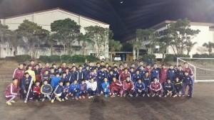 早稲田大学サッカー部・明治大学サッカー部によるサッカークリニック