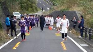 早稲田大学サッカー部・明治大学サッカー部八丈島合同合宿