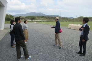 アルティメットU20日本代表スタッフによる視察のようす