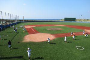 北照高等学校野球部 八丈島合宿