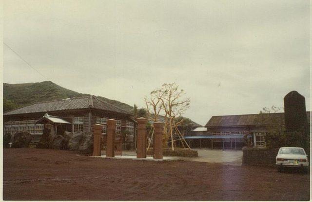 開館当時の歴史民俗資料館