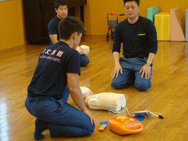 6月の第二週の催し物 救急法