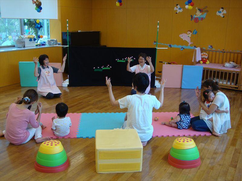 子ども家庭支援センター 8/19催し「人形で楽しむ」