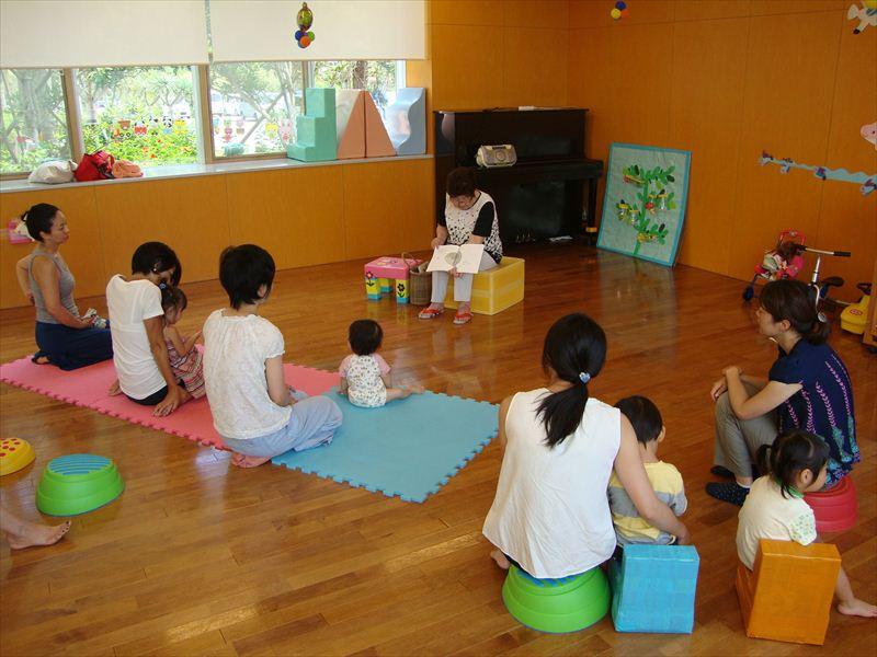 子ども家庭支援センター 9/2催し「絵本読み聞かせ」