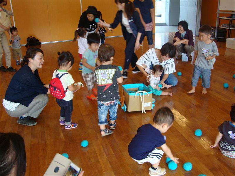 子ども家庭支援センター 9/30催し「ミニ運動会」