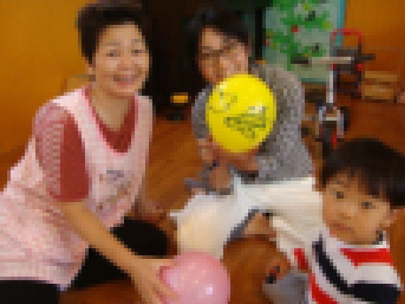 子ども家庭支援センター 10/7催し「バルーンで遊ぼう」