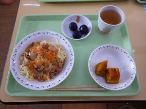 10月14日給食(すみれ)