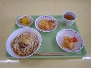 10月9日給食(さくら組)