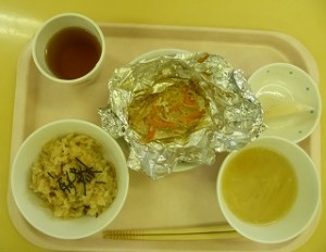 11月10日給食(ちゅうりっぷ)