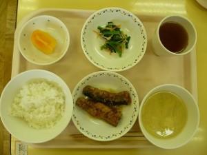 11月5日給食(ちゅうりっぷ)