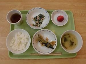 1月9日の給食(ちゅうりっぷ)