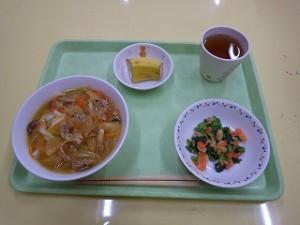 2月17日給食(さくら)